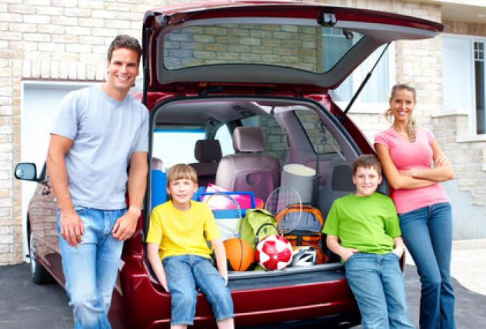 Familienauto ein kind