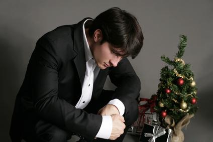 an weihnachten allein